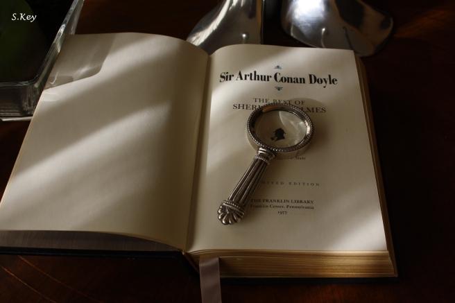Shelock Holmes, foto di Uno, nessuno e centomila libri